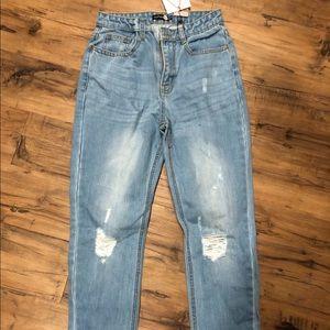 Boohoo High waisted jeans